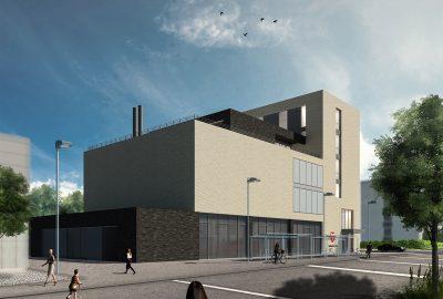 Architektur-Wettbewerb: Stadtarchiv und Ambulanzgarage Biel Schweiz