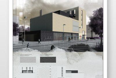 Architektur Wettbewerb Biel Schweiz Planungs-Präsentation
