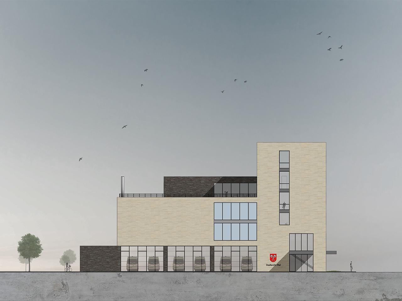 Architektur wettbewerb architektur und 3d - Architektur schnitt ...