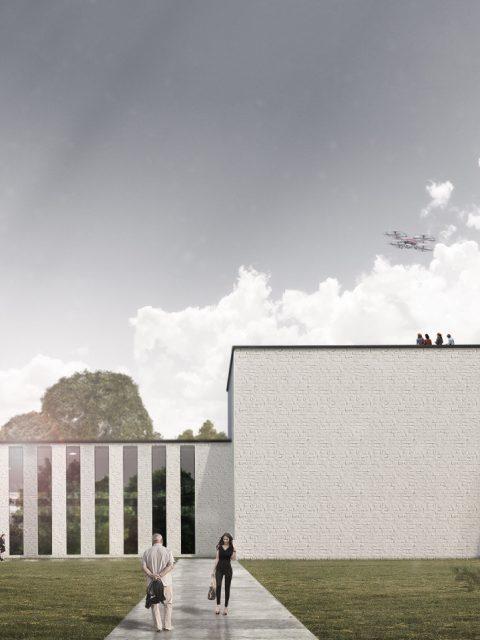 3D Visualisierung Messegebäude