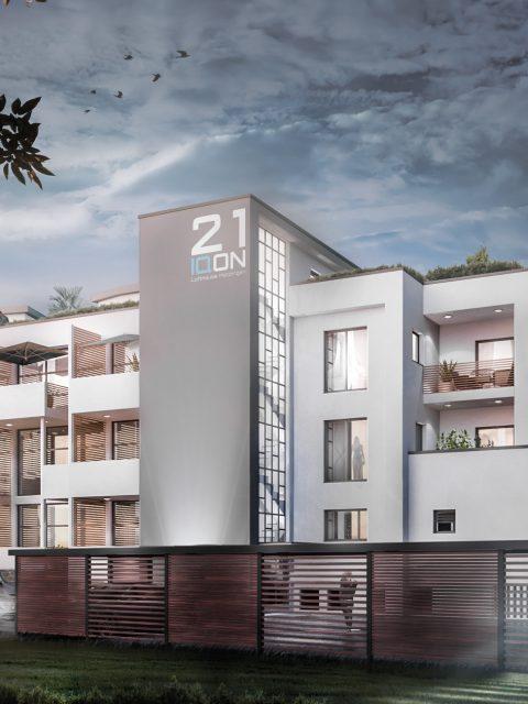 IQON Lofthouse Metzingen Architekturvisualisierung
