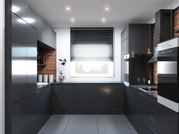 Innenraumvisualisierung Küche