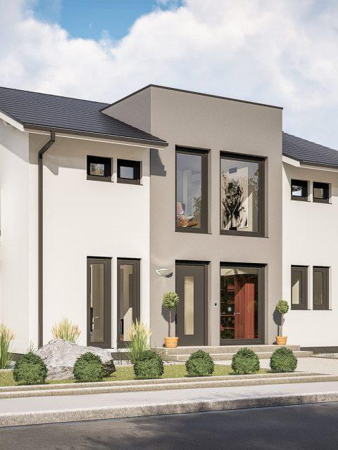 3D Visualisierung eines Einfamilienhaus