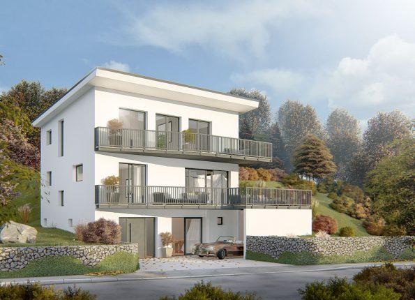 Einfamilienhaus in Birsfelden in der Schweiz