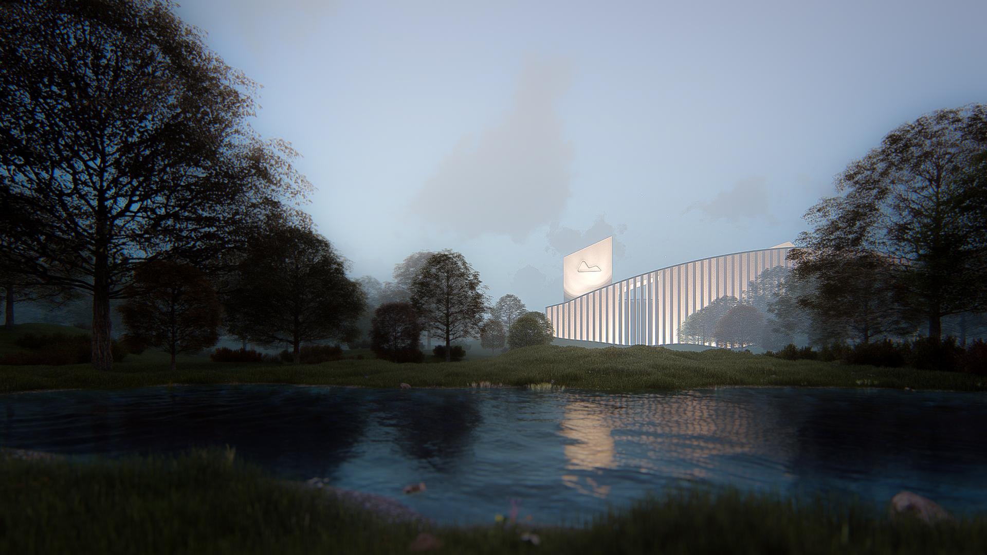 3D Visualisierung Architektur Wettbewerb