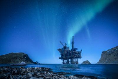 3D Visualisierung Gas-Bohrinsel Norwegen