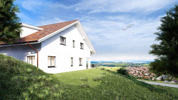 3D Architektur Visualisierung EFH Schweiz
